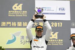 Podium: Podium: Racewinnaar Edoardo Mortara, Mercedes-AMG Team Driving Academy, Mercedes - AMG GT3