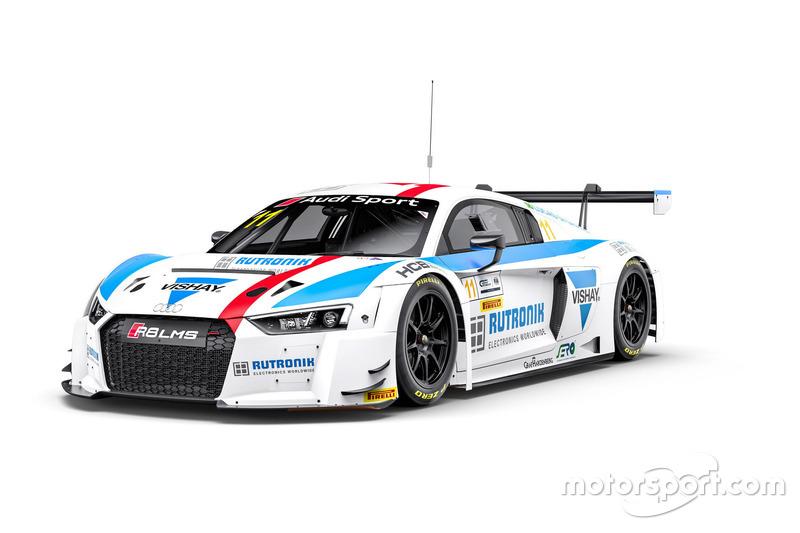 Lucas di Grassi, HCB-Rutronik-Racing, Audi R8 LMS