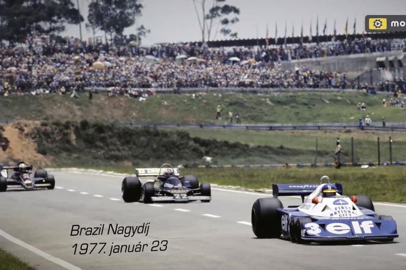 Forma-1 Brazil Nagydíj 1977: múltidézés, magyar felirattal