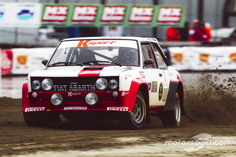 Alberto Battistolli, Fiat Abarth 131