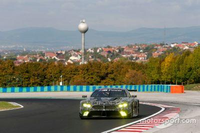BMW M8 GTE, test Hungaroring