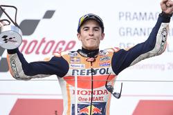 Podio: ganador, Marc Márquez, Repsol Honda Team