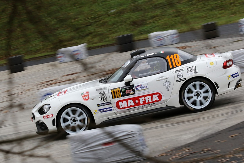 Andrea Nucita, Massimiliano Mattioli,  124 Abarth Rally