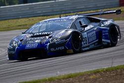 #28 Daiko Lazarus Racing Lamborghini Huracan GT3: Stefano Gattuso, Federico Leo, Arno Santamato