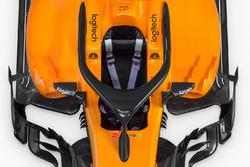 McLaren MCL33 detalle del halo