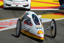 Fernando Alonso, Ferrari en un evento Shell eco car