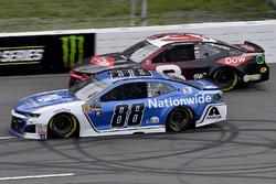 Alex Bowman, Hendrick Motorsports, Chevrolet Camaro Nationwide and Austin Dillon, Richard Childress Racing, Chevrolet Camaro Dow