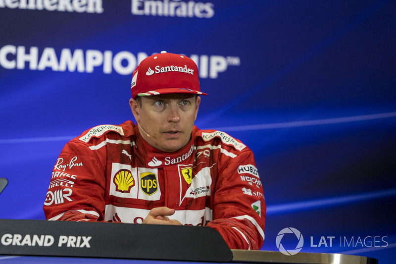 3. Kimi Raikkonen, Ferrari