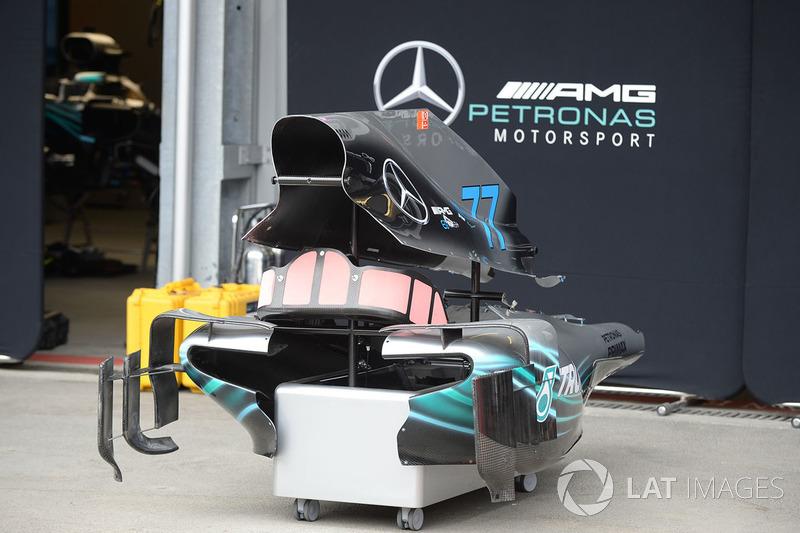 Mercedes-AMG F1 W09 EQ Power bodywork