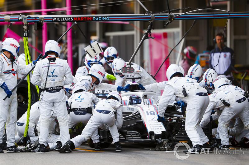 8º Williams con Stroll en Azerbaiyán (2.18)