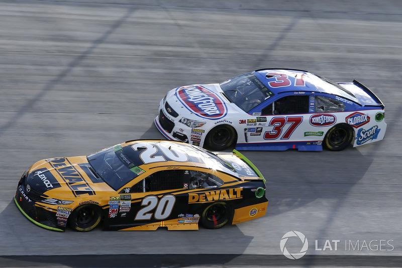 Matt Kenseth Joe Gibbs Racing Toyota Chris Buescher Jtg Daugherty Chevrolet