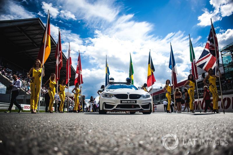 Coche de seguridad BMW