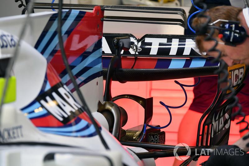 Задня частина Williams FW40