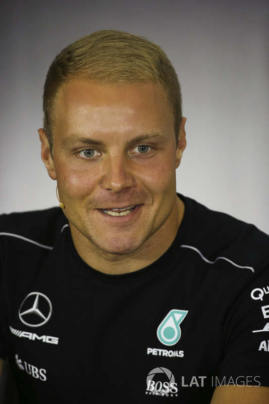 Valtteri Bottas, Mercedes AMG F1, in the Thursday press conference