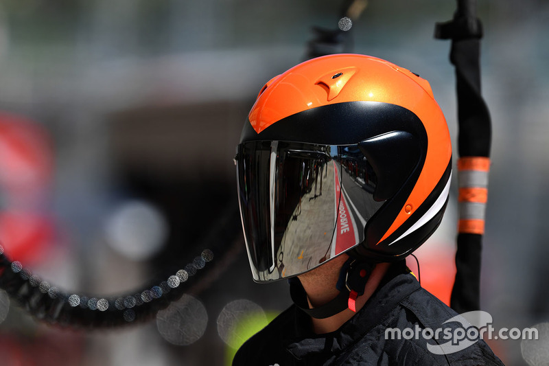 McLaren mechanic
