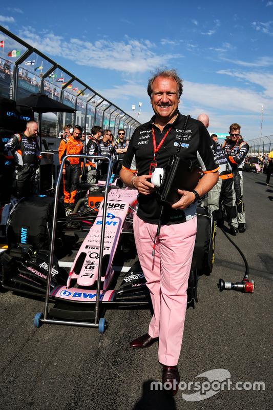 Robert Fernley, Sahara Force India F1