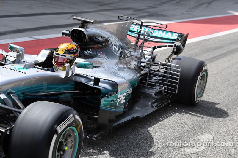 Formula 1 Fotogallery: le novità tecniche dei test in Bahrain