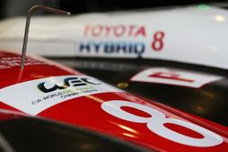 #8 Toyota Gazoo Racing Toyota TS050 Hybrid, detail