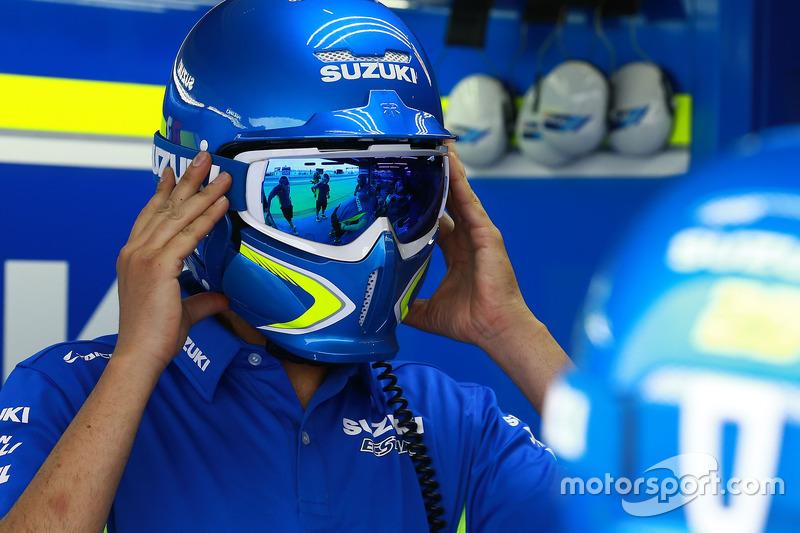 Mechaniker: Team Suzuki MotoGP