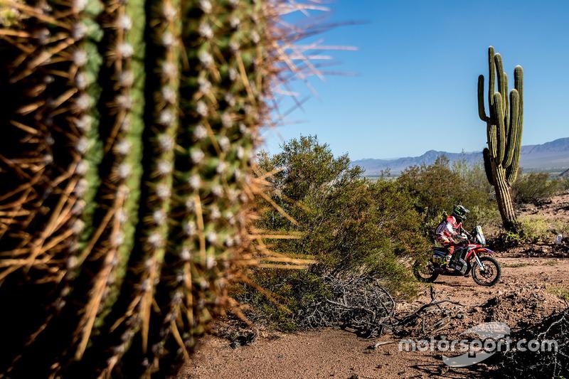 6. #15 Monster Energy Honda Team: Michael Metge