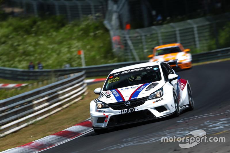 Hannu Luostarinen, Volker Strycek, Kisslong Motorsport, Opel Astra TCR