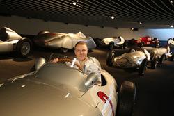 Valtteri Bottas, Mercedes AMG F1 at the Mercedes-Benz Museum
