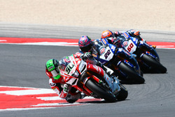 Eugene Laverty, Milwaukee Aprilia, Alex Lowes, Pata Yamaha, Michael van der Mark, Pata Yamaha