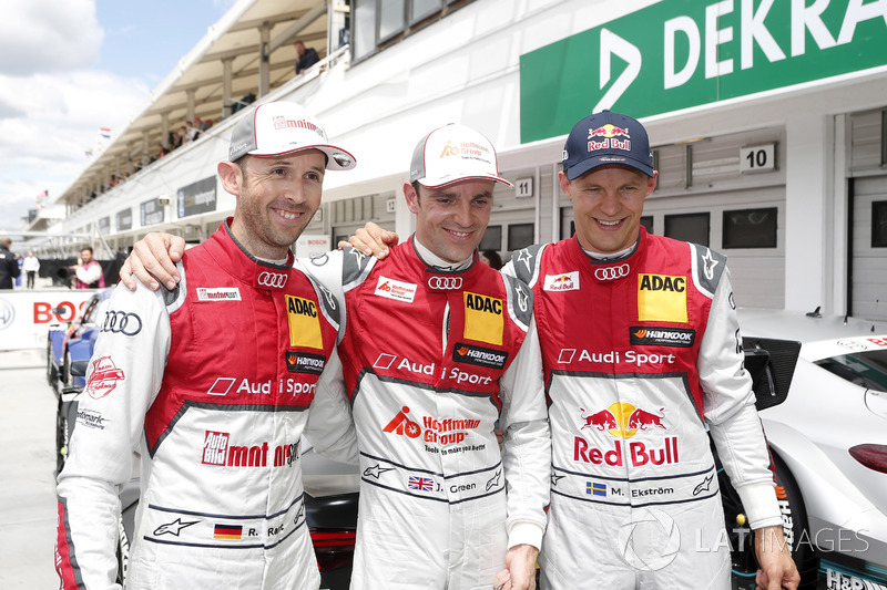 І весь вікенд домінували гонщики Audi