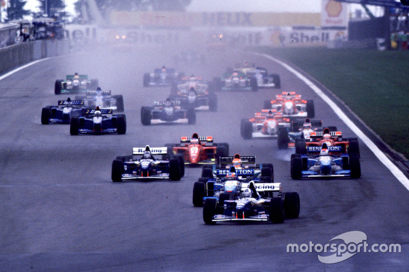 Start: David Coulthard, Williams leads