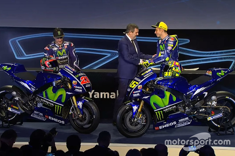 Валентино Россі, Yamaha Factory Racing, Маверік Віньялес, Yamaha Factory Racing