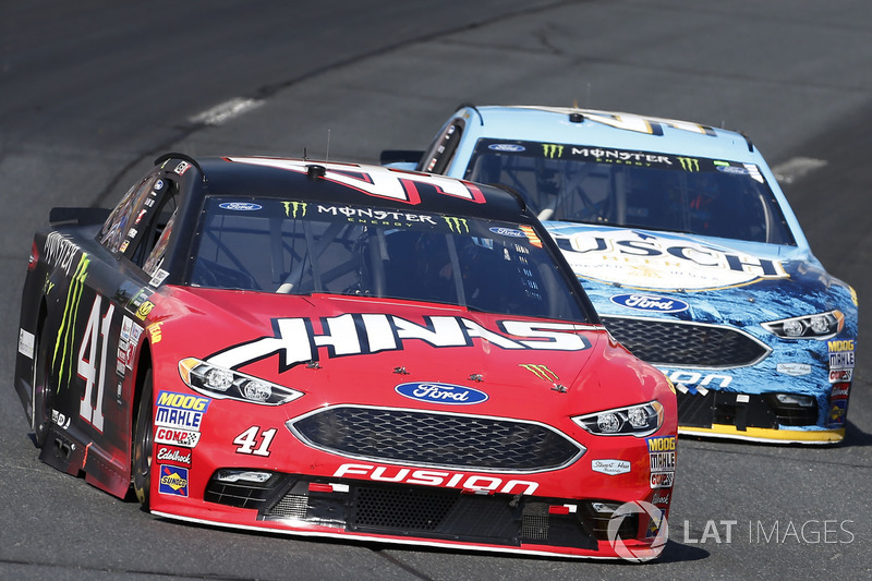 Kurt Busch, Stewart-Haas Racing Ford Kevin Harvick, Stewart-Haas Racing Ford