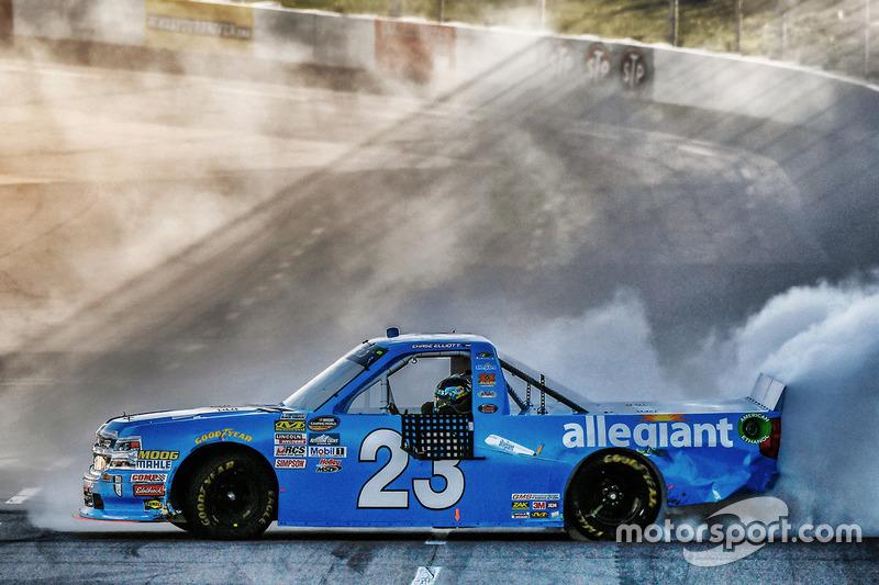 Ganador Chase Elliott, GMS Racing Chevrolet