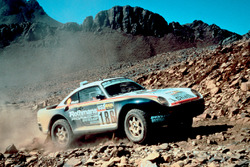 #186 Porsche 959: Рене Метж, Домінік Лемоуан