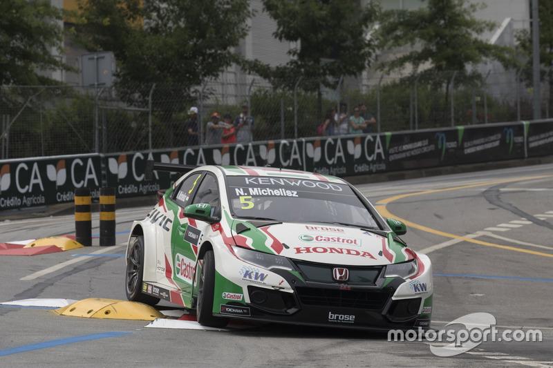 Norbert Michelisz, Honda Racing Team JAS, Honda Civic WTCC