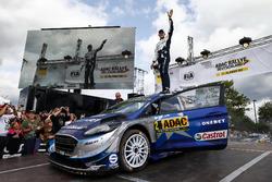 I vincitori Ott Tänak, Martin Järveoja, Ford Fiesta WRC, M-Sport