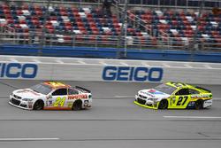 Chase Elliott, Hendrick Motorsports, Chevrolet; Paul Menard, Richard Childress Racing, Chevrolet
