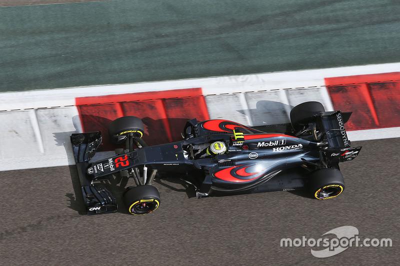 12. Jenson Button, McLaren MP4-31