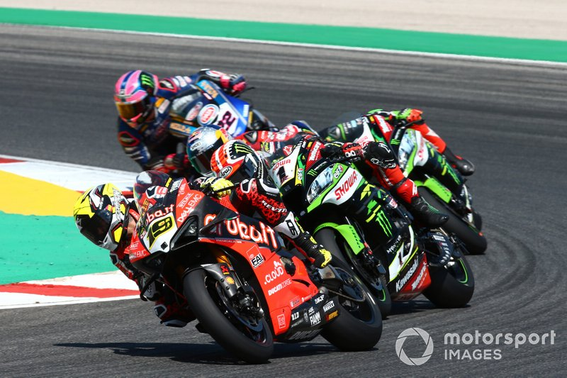 Alvaro Bautista, Aruba.it Racing-Ducati Team, Jonathan Rea, Kawasaki Racing Team, Toprak Razgatlioglu, Turkish Puccetti Racing