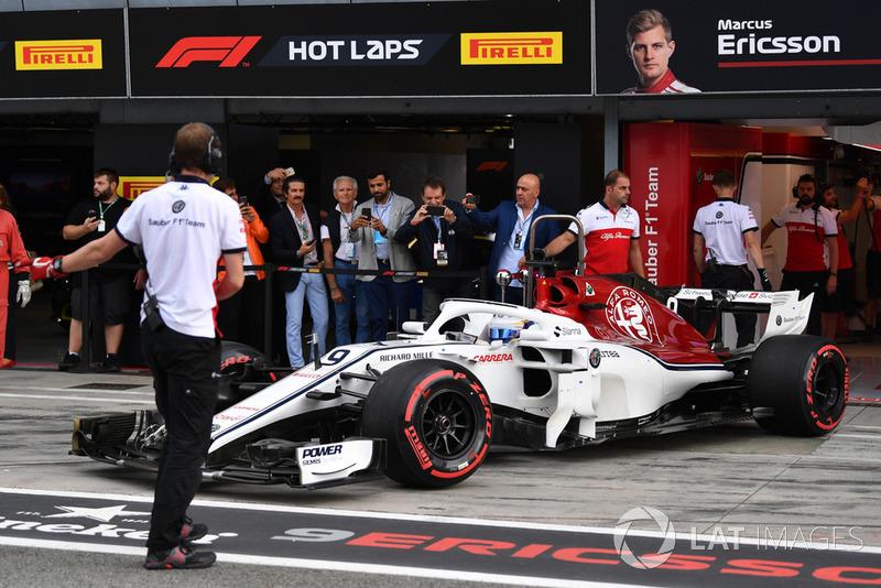 18: Marcus Ericsson, Sauber C37, 1'22.048 (inc 10-place grid penalty)