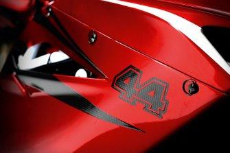 Detalle de la MV Agusta F4 LH 44