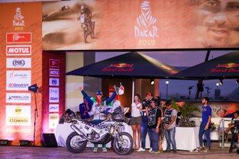 Podium: Bas Dakar Team: Kenneth Gilbert