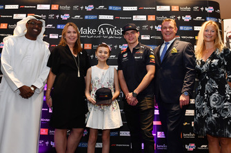 Max Verstappen, Red Bull Racing at Make A Wish Foundation Charity Auction at Jumeirah At Etihad Towers