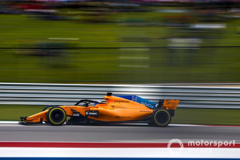 21. Fernando Alonso, McLaren MCL33