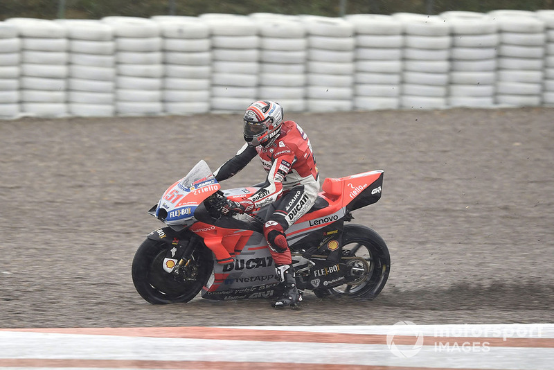Michele Pirro, Ducati team, va largo