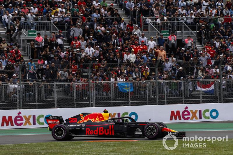 GP de México: Max Verstappen (Ganó la carrera)