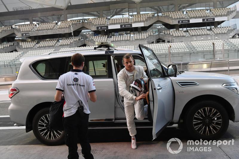 Kimi Raikkonen, Sauber vuelve a los boxes