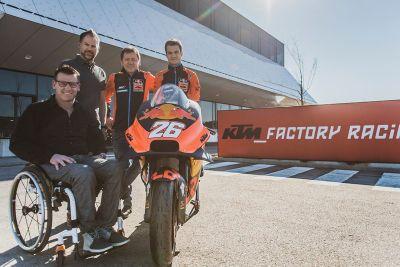 Dani Pedrosa KTM presentation