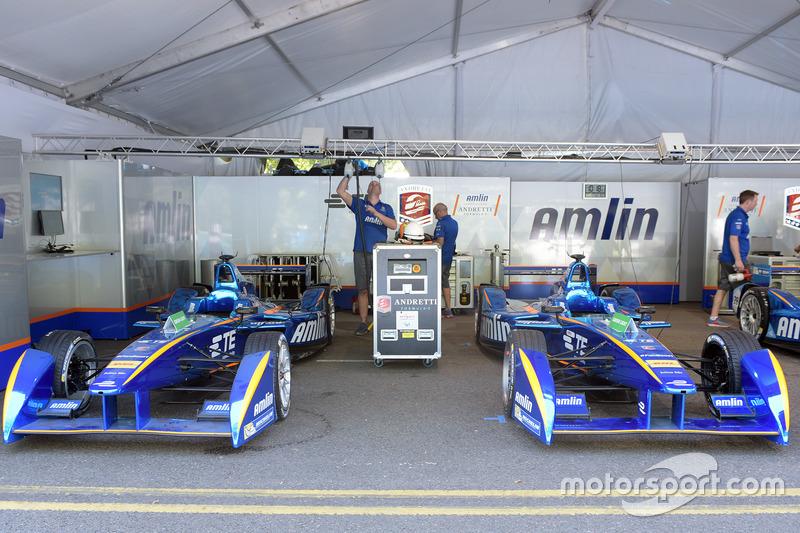 Teammitglieder von Amlin Andretti Formula E