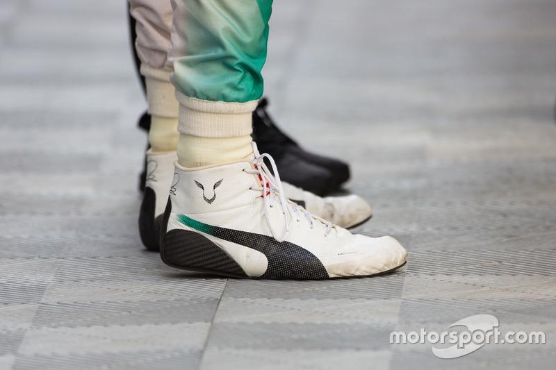 Hamilton Port茅es Puma chaussures Hamilton Lewis Par