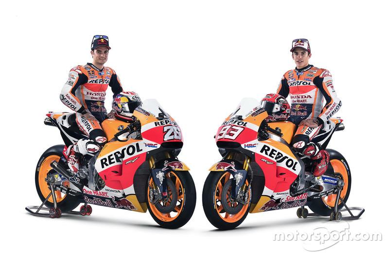 Dani Pedrosa, Repsol Honda Team en Marc Marquez, Repsol Honda Team